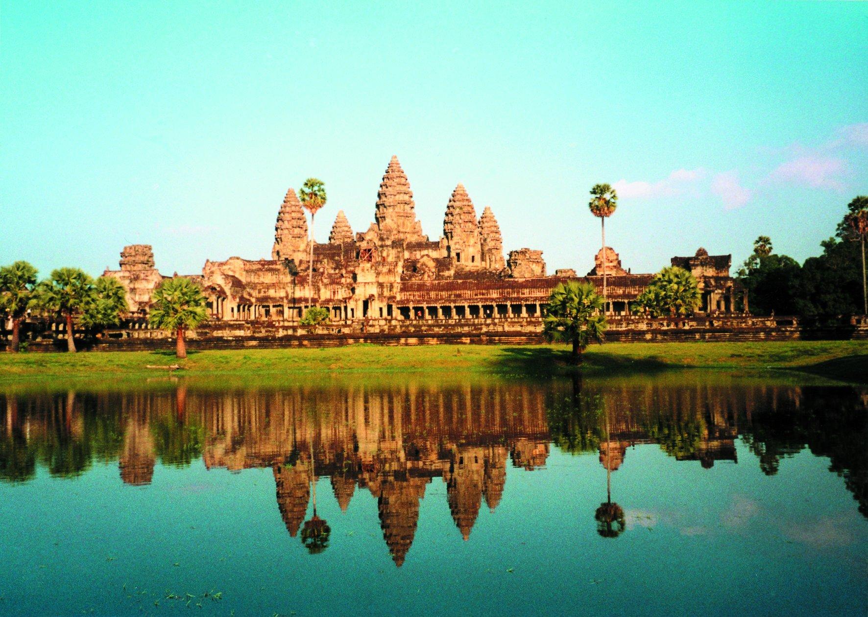 1.Angkor Wat, Cambodia