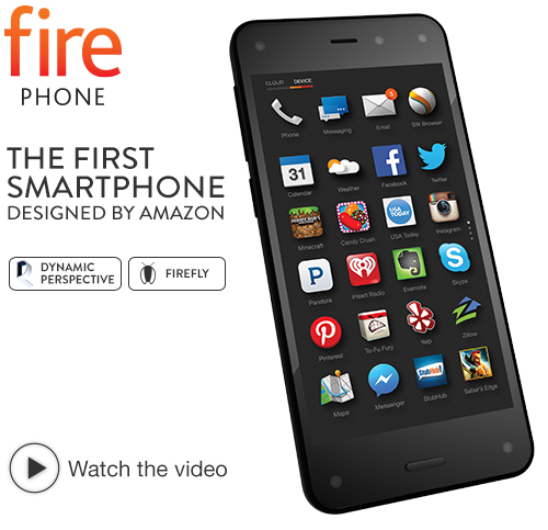 4.Amazon Fire Phone, 32GB (AT&T)