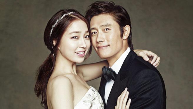 1.Lee Byung-hun & Lee Min-jung
