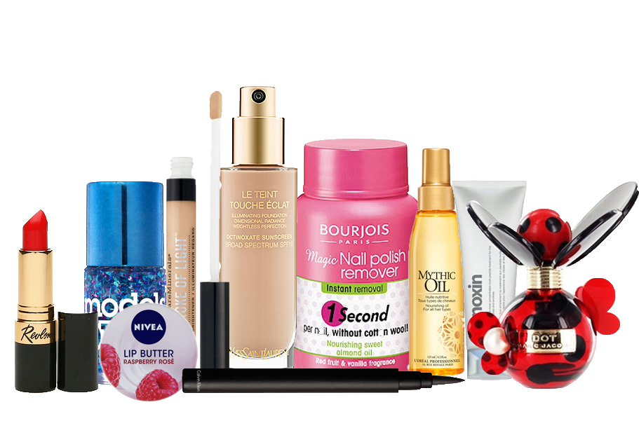 1.Beauty products