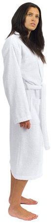 1. TowelSelections Cotton Robe