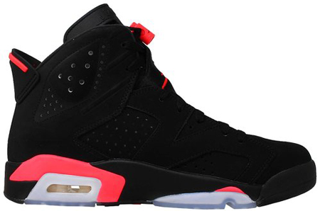 2. Nike Mens Air Jordan 6 Retro Basketball Shoe