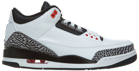 6. Nike Men's Air Jordan III Retro Basketball Shoe