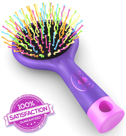 8. Best Curly Cue Colors Detangling Hair Brush