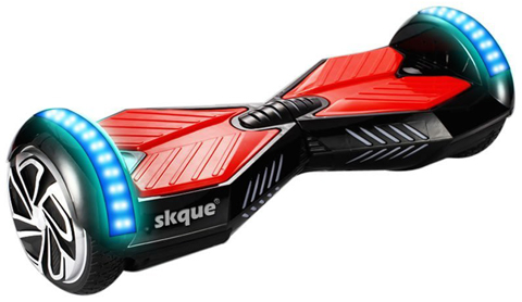 8. Skque® Two Wheel Self Balancing Electric Scooter