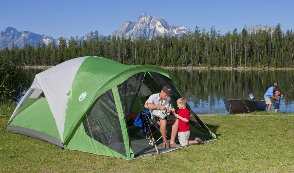 best camping tents coleman evanston