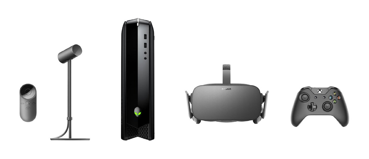 Oculus Rift + Alienware Oculus Ready X51 R3 i5 8GB Desktop PC Bundle