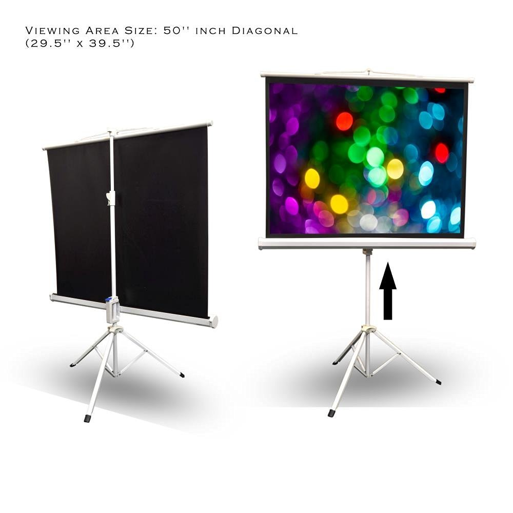 best video projection screens