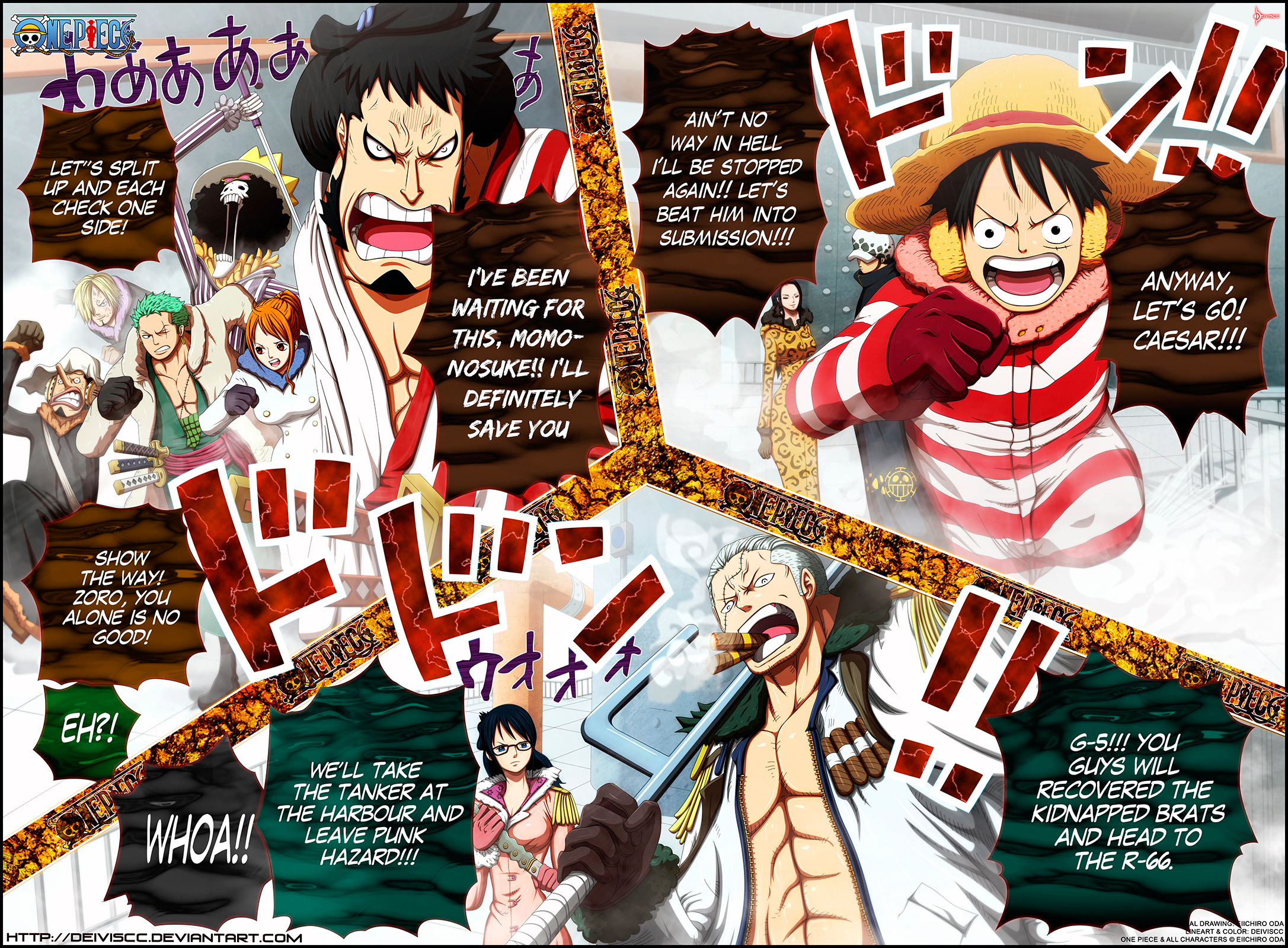 Colored manga websites - One Piece Greatest Manga Of All Time
