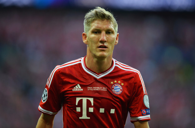 7.They also have the strapping husky bulk of a German godlike statue named Bastian Schweinsteiger.