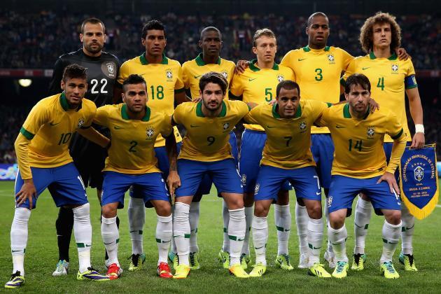 Brazil world cup 2014 team