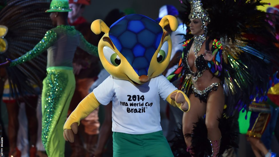 Opening World Cup 2014