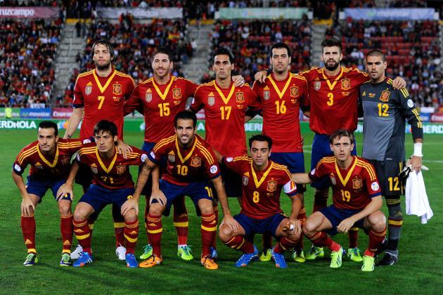 Spain team world cup 2014