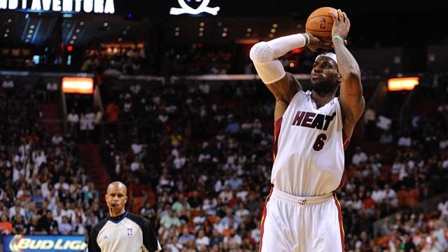 1.Lebron James, SF, Miami Heat