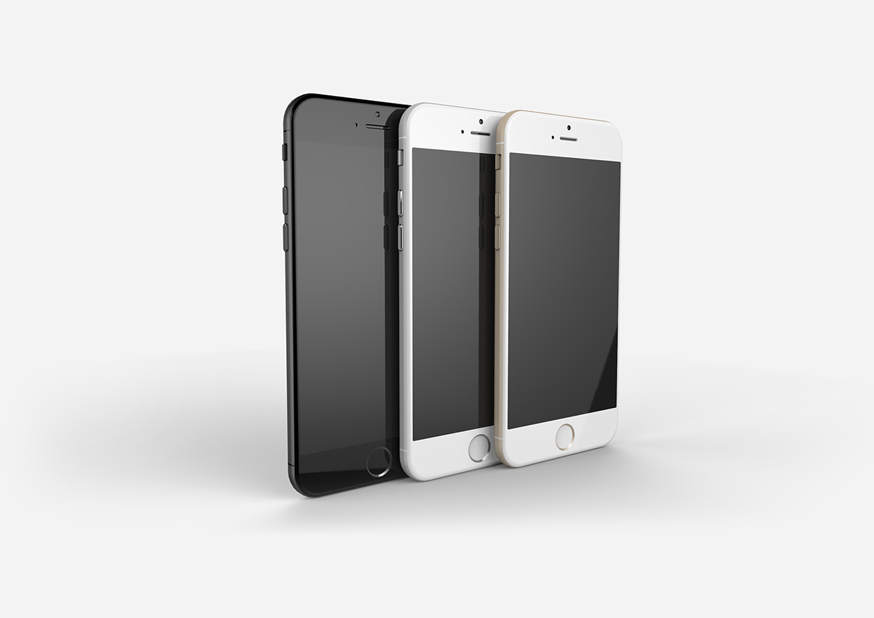 The front of the phones shows a much thinner bezel