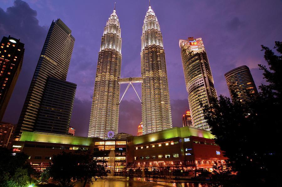 1.Petronas Twin Towers in Kuala Lumpur