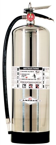 Amerex 240 2.5 Gallons Water Fire Extinguisher