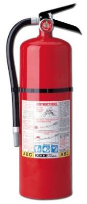 Kidde 466204 Pro 10 MP Fire Extinguisher