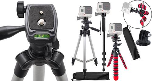 1. eCost 50 Inch Aluminum Camera Tripod