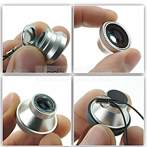 18. Hot Spot 3 in 1 Magnetic Detachable 180° Fish eye Lens,wide Angle Lens