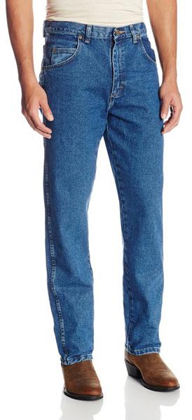 3. Wrangler Men's Rugged Wear Relaxed Fit Jean