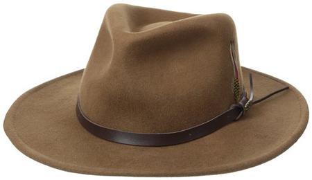 2. Scala Classico Men's Hat