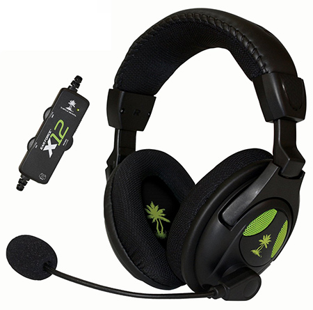 2. Ear Force X12 Gaming Headset and Amplified Stereo Sound