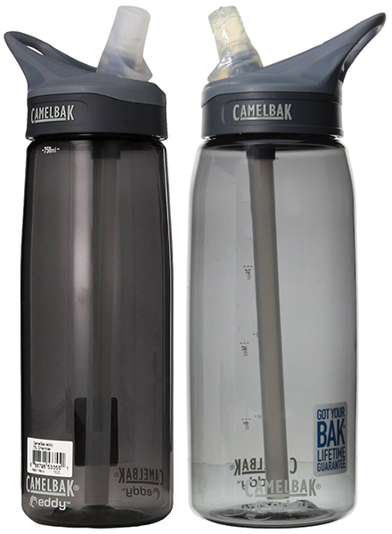1. Camelbak Eddy Bottle 0.75-Liter/25-Ounce