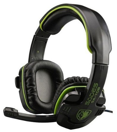 1. SADES SA-708 Stereo Headset Gaming Headset with Microphone