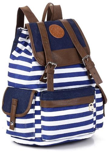3.SHENGXILU Unisex Barrel Backpack