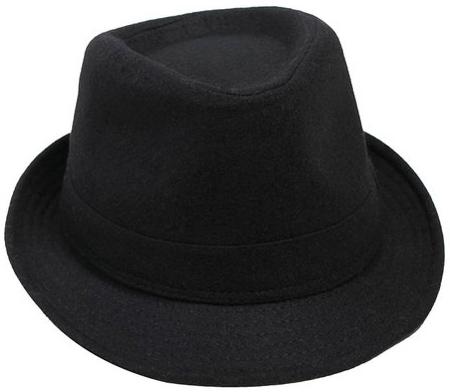 10. Men's Manhattan Fedora Hat