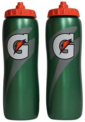 8. Gatorade Squeeze Water Sports Bottle 32oz