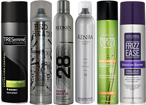 hairspray for thick hair