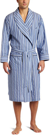 10. Nautica Sultan Stripe Woven Robe