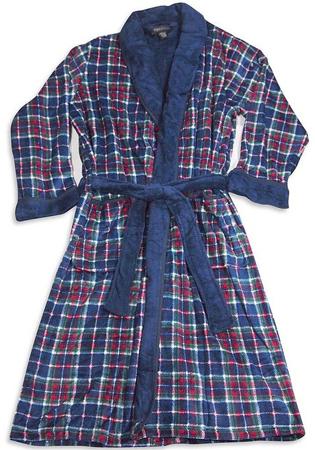 4. State O Maine Mens Plush Robe