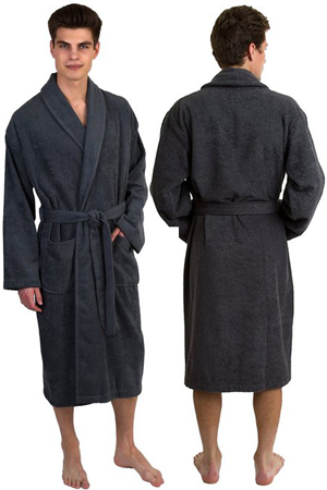 1. TowelSelections Turkish Cotton Robe