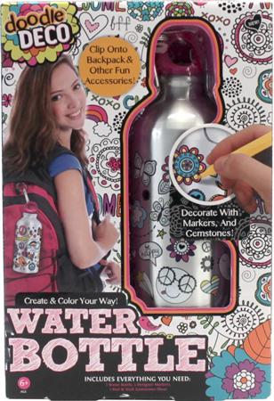10. Doodle Water Bottle by Doodle Deco