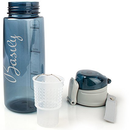1. Infuser Water Bottle by Basily