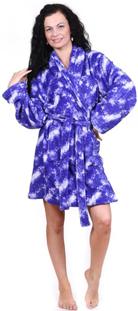8. Totally Pink Women's Plush Robe
