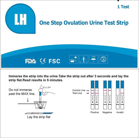 7. Accumed One Step Ovulation Test Kit
