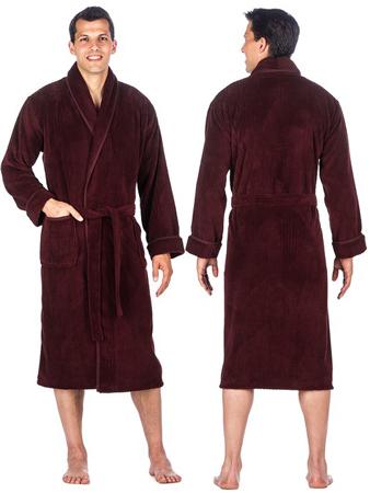 3. Noble Mount Premium Microfleece Spa Robe