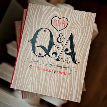 8. Our Q&A a Day: 3-Year Journal for 2 People