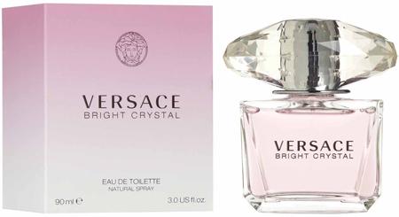 29. Versace Bright Crystal Eau de Toilette Spray for Women, 3 Ounce