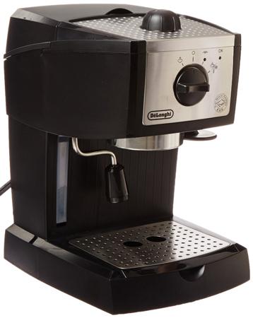 31. De'Longhi EC155 15 BAR Pump Espresso and Cappuccino Maker