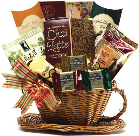 15. Art of Appreciation Gift Baskets You're My Cup of Tea and Treats Gift Basket