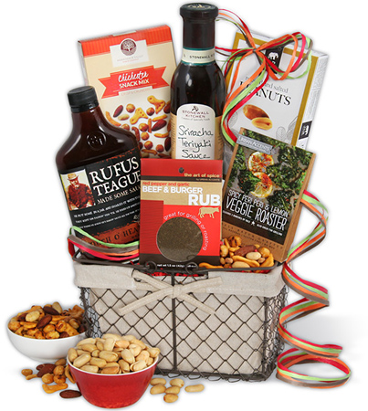 39. The Barbecue Boss BBQ Gift Basket