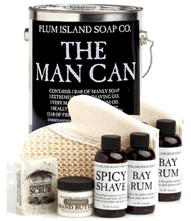 45. The Man Can All Natural Bath and Body Gift Set for Men