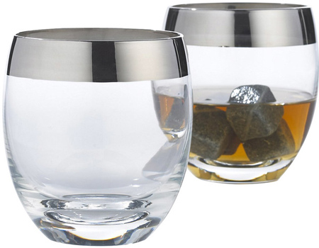10. Wine Enthusiast Madison Avenue Whiskey Glasses, Set of 2