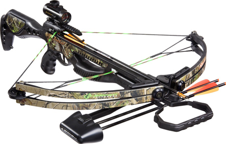 28. Barnett Jackal Crossbow Package (Quiver, 3 - 20-Inch Arrows and Premium Red Dot Sight)