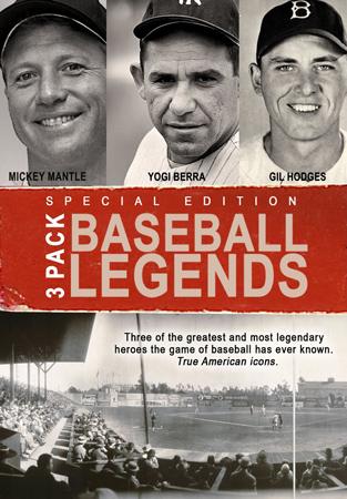 15. Baseball 3 Pack: Yogi Berra/Mickey Mantle/Gil Hodges